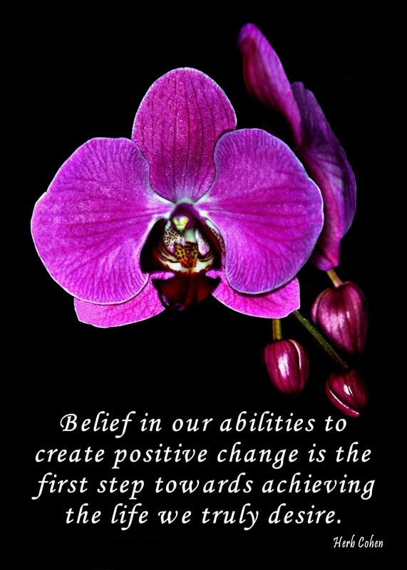 Self empowerment is Belief in our abilities is the first step towards creating positive changes in our lives