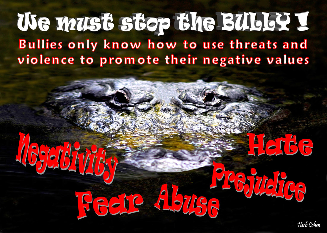 Bullies of all ages and in every walk of life only know how to use threats and violence to promote their negative values, but with positive actions, we can say NO to the negative influence of bullies and say YES to our freedom to live our life the way we choose  Monument of Gratitude  Our life is a journey towards the serenity of peace for it's our passion and determination that will guide us and inspire us towards the life we truly desire It's our positive feelings that inspire our actions towards the life we truly desire We are all unique and special individuals who deserve to experience the positive feelings of happiness, success, love, harmony and especially, the serenity of peace Our journey towards the serenity of peace is a reflection of our openness to totally appreciate the blessings of happiness, success, love, and harmony in our lives